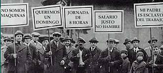 El Primero de Mayo, Día del Trabajador.