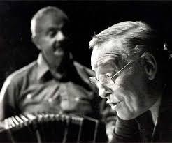 El Polaco Goyeneche con Astor Piazzolla. El tango nuevo también fue su pasión