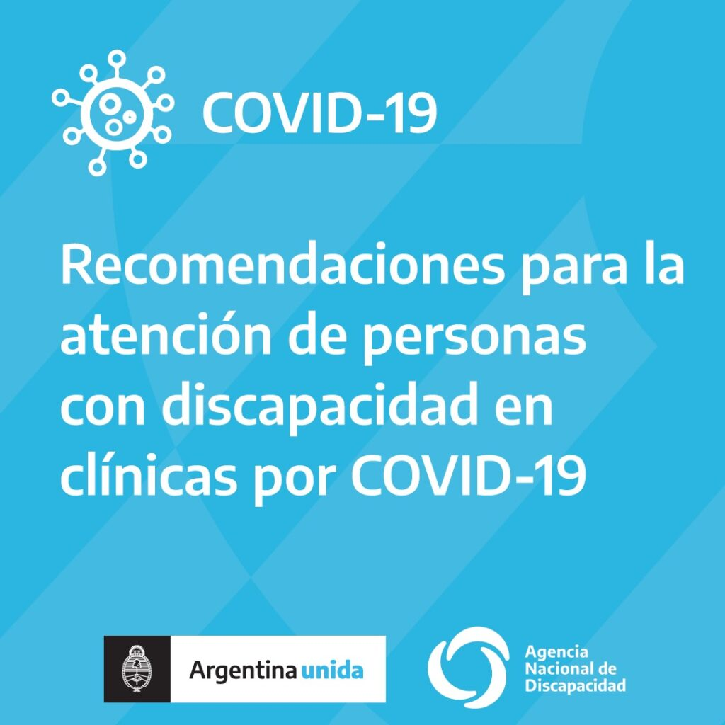 Protocolo para la atención de personas con discapacidad en clínicas por Covid-19