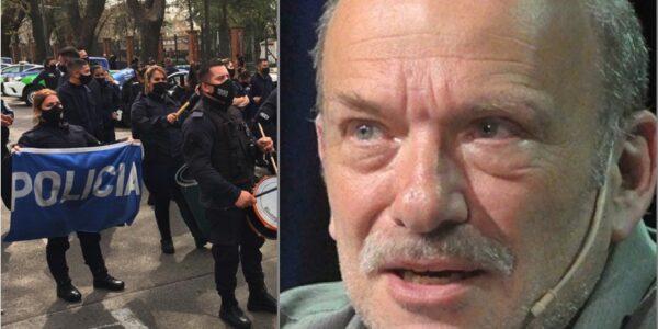 Ragendorfer y la protesta policial
