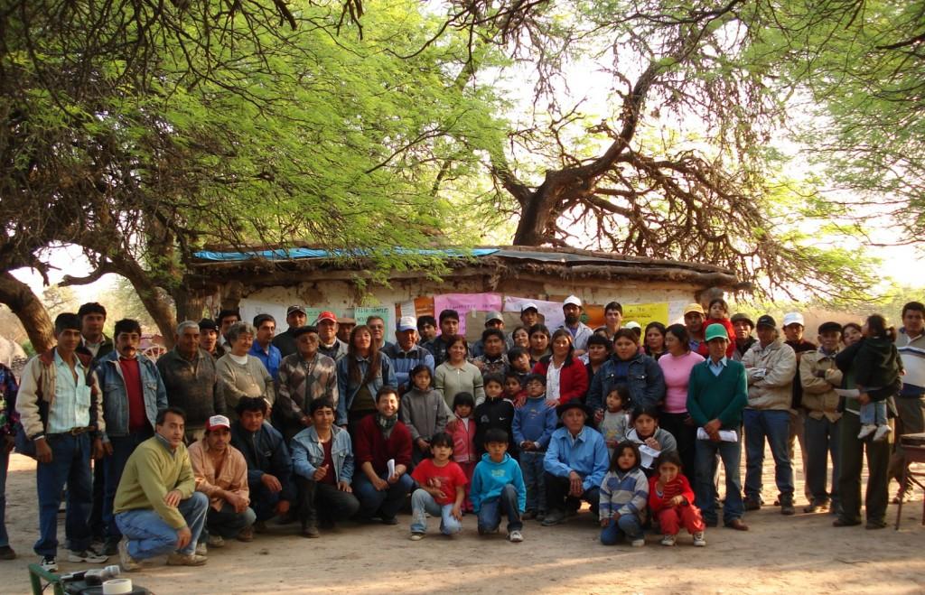 Comunidad de campesinos de Añatuya, Santiago del Estero.
