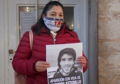Casua Facundo Astudillo. Sin justicia. Cristina Castro la mamá de Facundo denunció que el sistema judicial no quiere hacer nada. No investiga ni busca la verdad de la desaparición forzosa de su hijo.