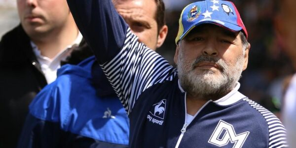 Maradona y el Sipreba