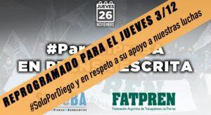 El Sipreba postergó el paro por la muerte de Maradona