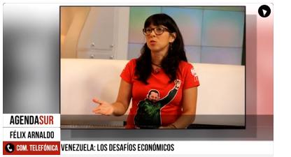 Venezuela. Diputada Yurami Quintero