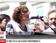 """Sonia Alesso: """" Queremos la vuelta a las clases presenciales, pero con cuidados"""""""