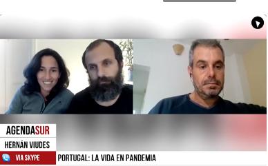 PORTUGAL, CÓMO SE VIVE LA SEGUNDA OLA DE COVID.