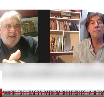 Jorge Alemán. Las tensiones en el Frente de Todos, Patricia Bullrich y las elecciones.