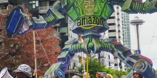 Jeff Bezos y Amazon vs trabajadores y sindicatos