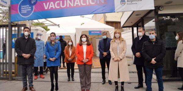 PAMI puso en marcha un vacunatorio contra el COVID-19 en Mendoza