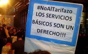 La encrucijada tarifaria. protestas durante el macrismo.