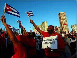 ¿Qué pasa en Cuba? Libertad, democracia y bloqueo.